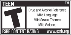 ESRB Rating: Teen